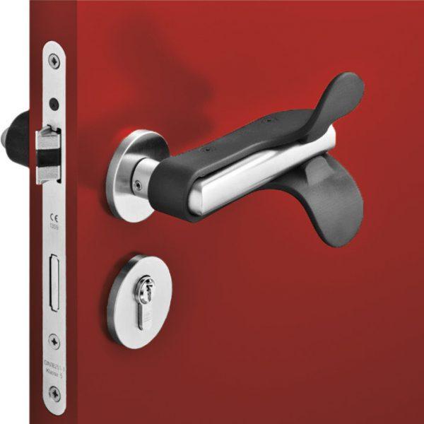 hands free door opener, deuropener, deurklink