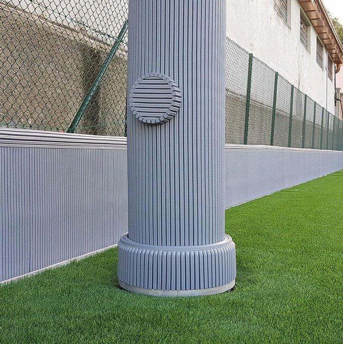 Muur- Paalbeschermer, Muur- Paalbescherming Kind Sport School protection pour mur et poteau
