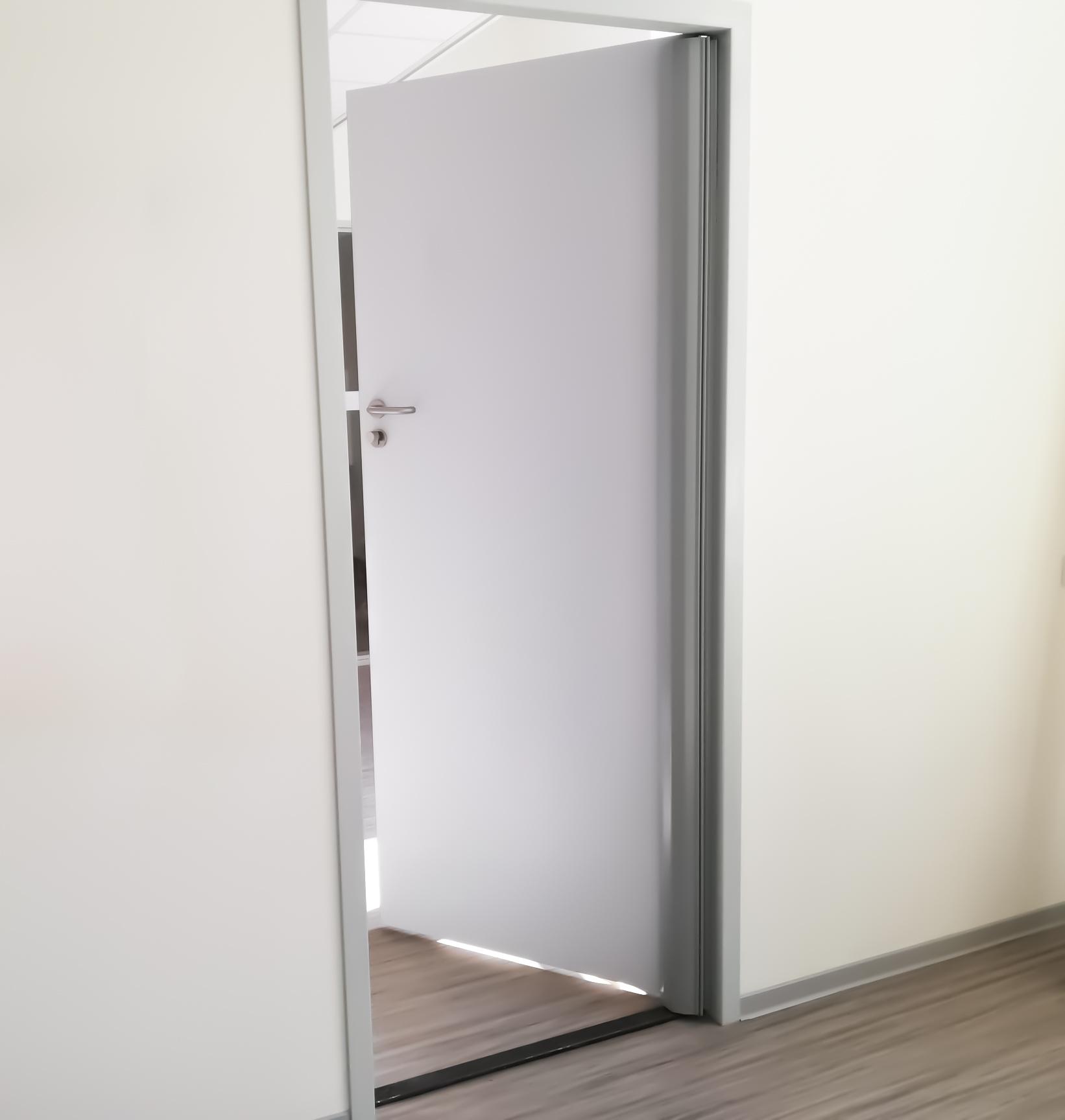 Arte Viva Finger Alert Professional silver grey - door finger guard deurstrip klemmschutz anti pince doigt salvadedos
